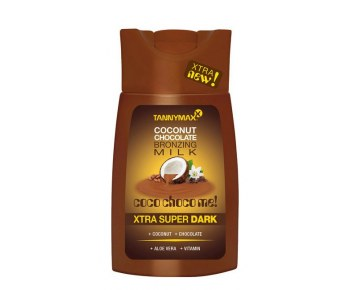 TANNYMAXX Super Dark Chocolate Milk молочко-ускоритель для загара с бронз 3-го действия 200 мл