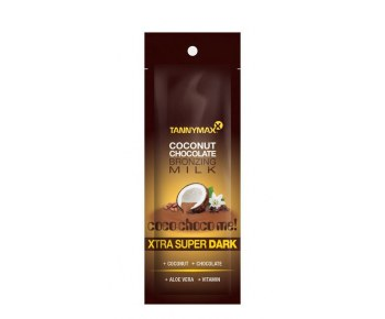 TANNYMAXX Super Dark Chocolate Milk молочко-ускоритель для загара с бронз 3-го действия 15 мл